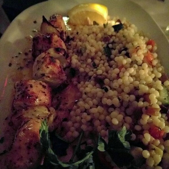 chicken kabob - Periyali, New York, NY