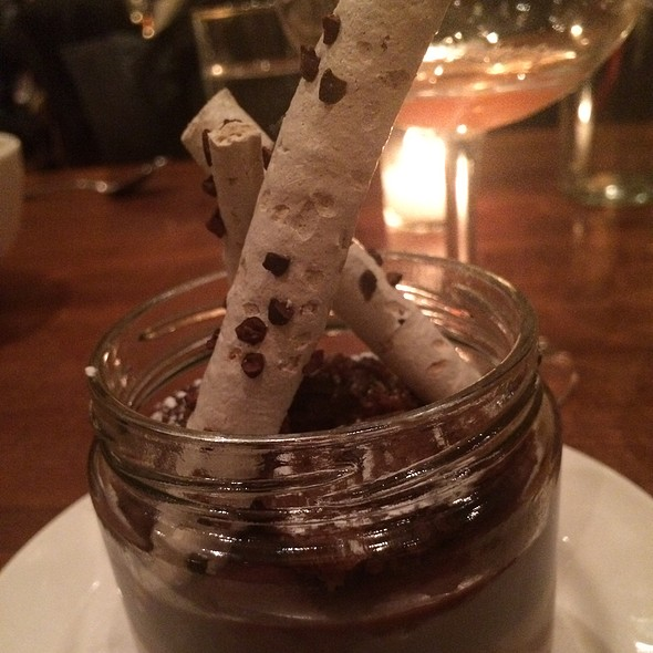 Chocolate Pot Du Creme - Jane, New York, NY