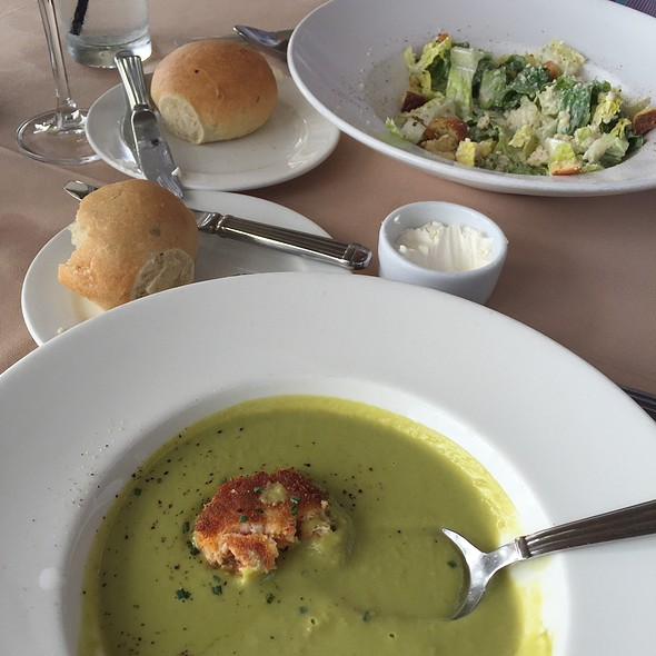 Pea Soup - Geoffrey's Restaurant, Malibu, CA