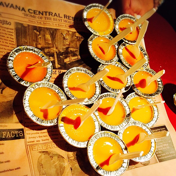 Mini Flans - Havana Central Times Square, New York, NY