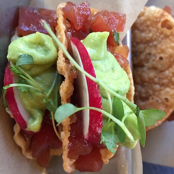 Ahi Tuna Tacos - Catal Restaurant, Anaheim, CA