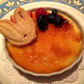 Crème Brûlée - Bertrand at Mister A's, San Diego, CA
