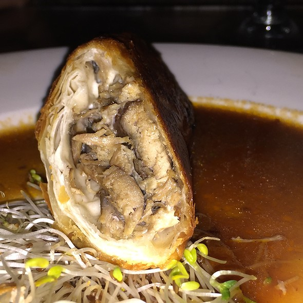 Duck Confit Mushroom Strudel - Eulogy Belgian Tavern, Philadelphia, PA
