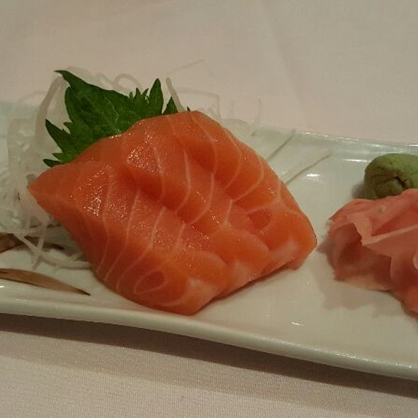 Salmon Sashimi - Cafe Ginger, Houston, TX
