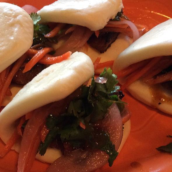 Pork Belly Steamed Bun Sliders - Extra Virgin - Kansas City, Kansas City, MO