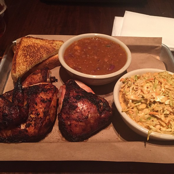BBQ Chicken - Doc Crow's Southern Smokehouse & Raw Bar, Louisville, KY
