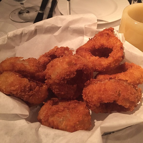 House-Made Onion Rings - Grasing's, Carmel, CA