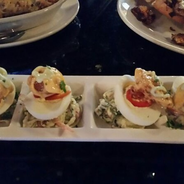Deviled Eggs - Willie G's - Post Oak, Houston, TX