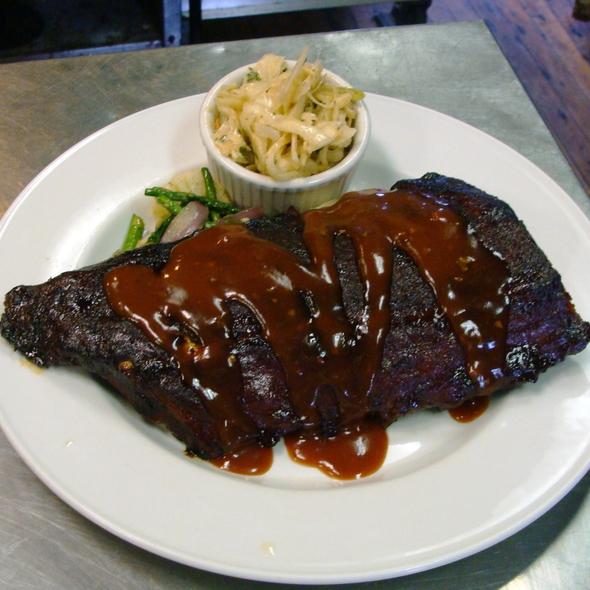 Baby Back Ribs - Trax Restaurant & Cafe, Ambler, PA