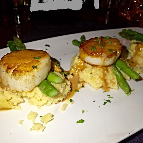 Pan Seared Sea Scallops - Timpano Italian Chophouse - Ft. Lauderdale, Fort Lauderdale, FL