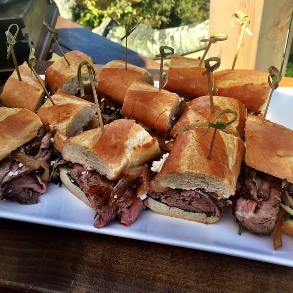 Rosemary Marinated Sirloin Steak Sandwich - The Valley Kitchen, Carmel, CA