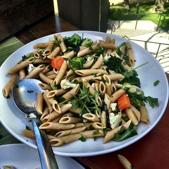 Whole Wheat Pasta Salad - The Valley Kitchen, Carmel, CA