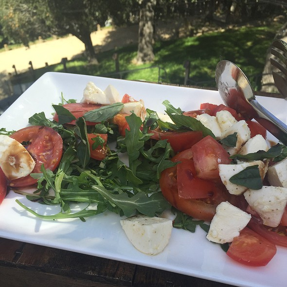 Vine Ripe Tomato And Mozzarella Salad - The Valley Kitchen, Carmel, CA