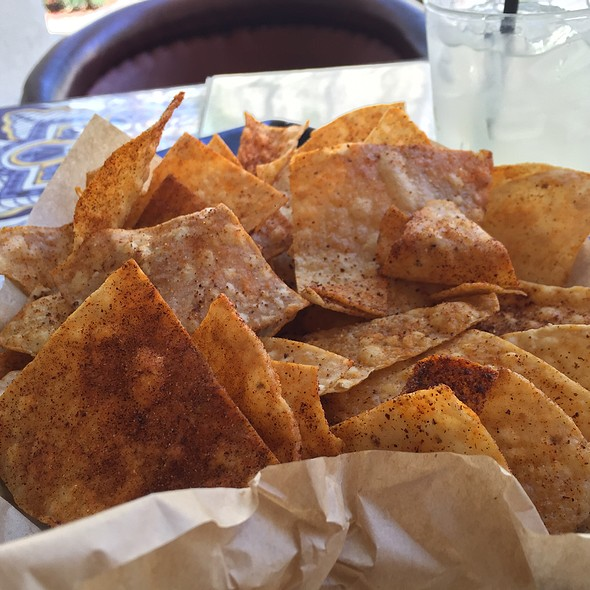 Chips and Salsa - Rocco's Tacos & Tequila Bar - Boca Raton, Boca Raton, FL