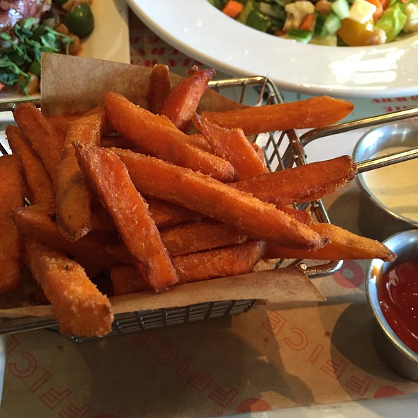 Sweet Potatoe Fries - The Office, Delray Beach, FL