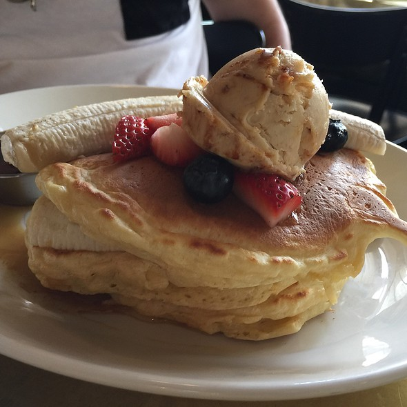 ricotta pancakes - L.A. Chapter, Los Angeles, CA
