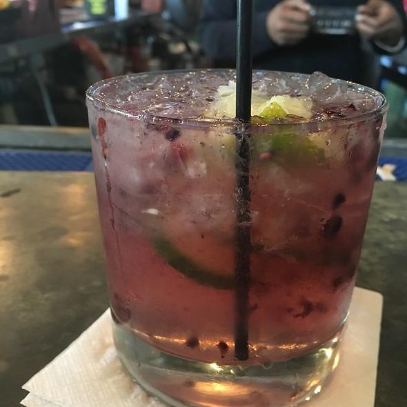 Cucumber Vodka With Blackberries - Jackson Brewery Bistro Bar, New Orleans, LA