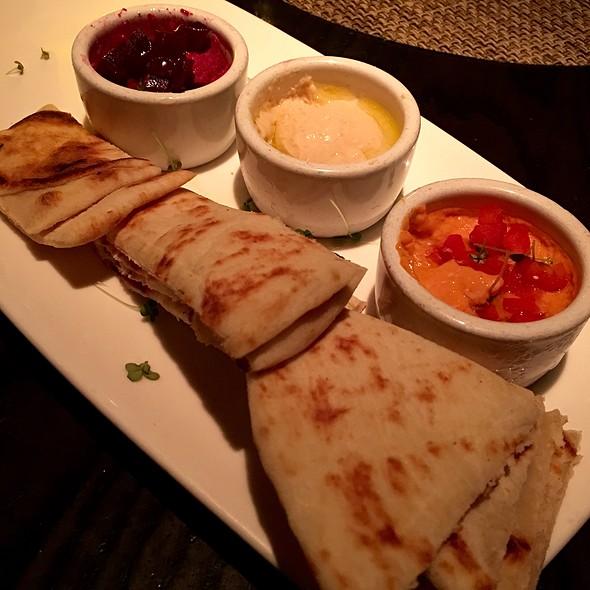 Hummus Trio - Sambuca Restaurant - Nashville, Nashville, TN