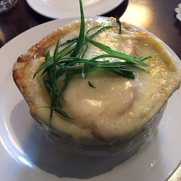 French Onion Soup - Cafe Genevieve, Jackson, WY