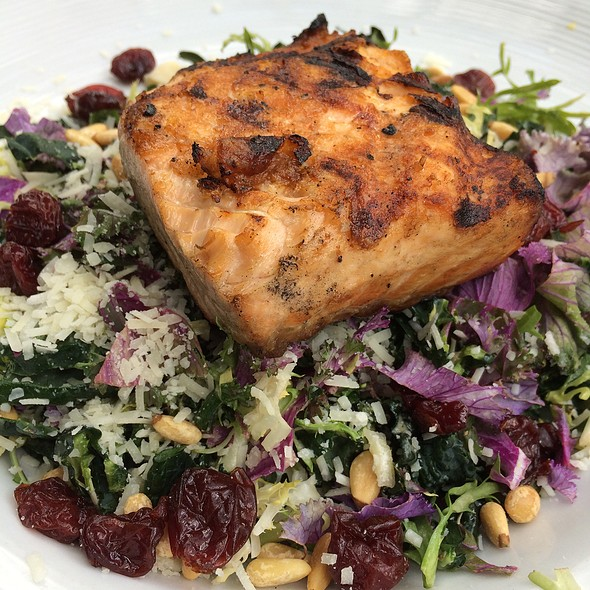Scottish Salmon And Kale Salad - Cappy's Restaurant, San Antonio, TX