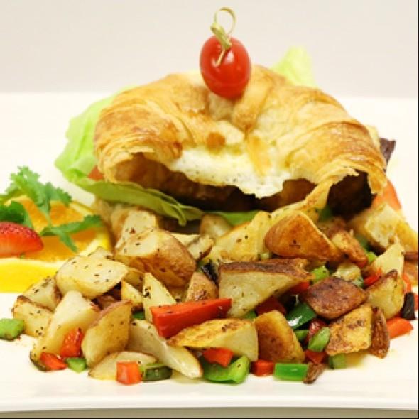 Pork Belly & Egg Sandwich - Nix / Martini Bar - Knickerbocker Hotel, Chicago, IL