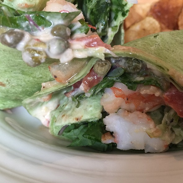 Grilled Shrimp Wrap - Pacci Italian Kitchen & Bar, Savannah, GA