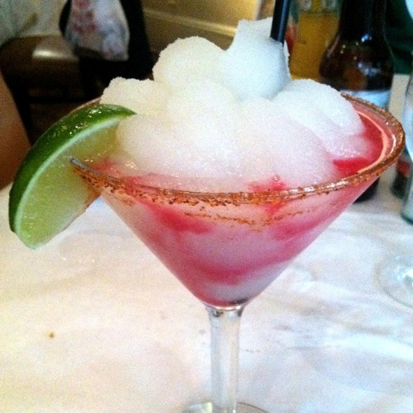 prickly pear margarita - Zinc Bistro & Wine Bar, San Antonio, TX