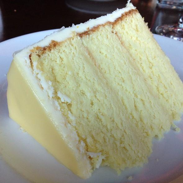 Lemon Doberge Cake - Del Frisco's Grille - McKinney Ave - Uptown, Dallas, TX