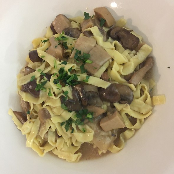 Tagliatelle Porcini Mushrooms - Molto Trattoria, Naples, FL