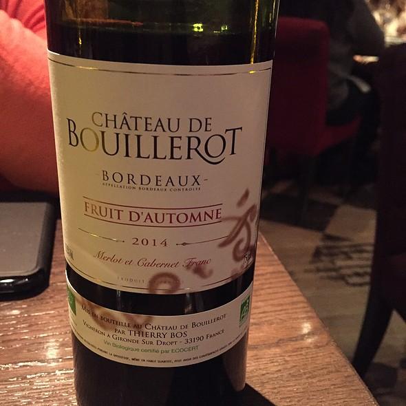 Bordeaux Wine - Le Pois Penché, Montréal, QC