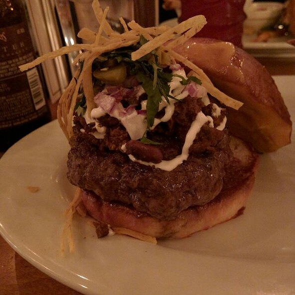 Cheddar Chili Burger - 5 Napkin Burger - Upper West Side, New York, NY
