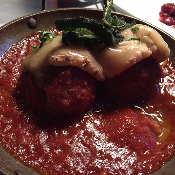 Turkey Meatballs - Russell House Tavern, Cambridge, MA