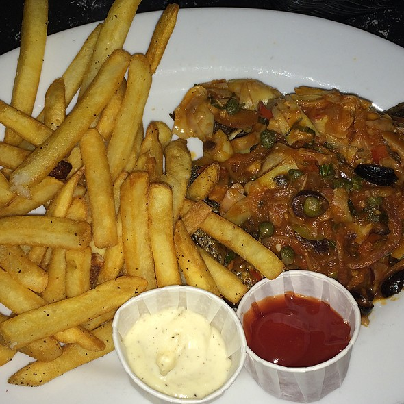 Sea Bass With Fries - Waterzooi Belgian Bistro, Garden City, NY