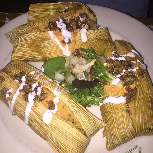 Beef Tenderloin And Pecan Tamales - Reata Restaurant-Alpine, Alpine, TX