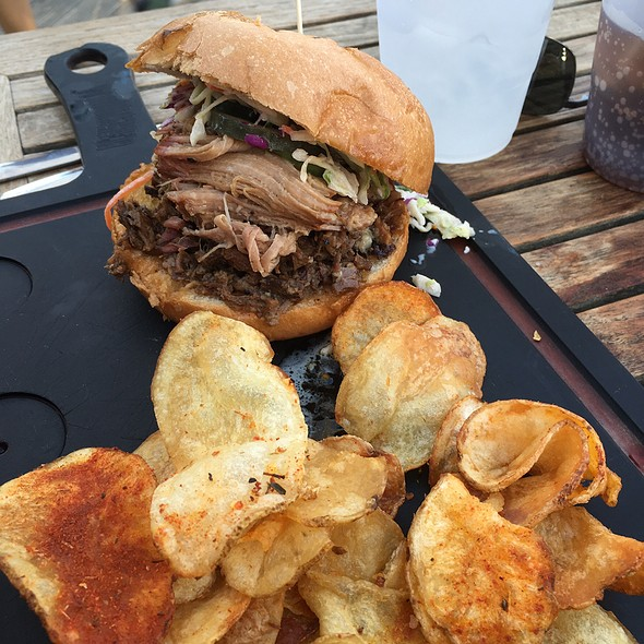Butcher's Sandwich - Woodshed Smokehouse, Fort Worth, TX