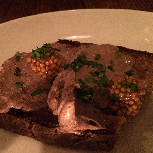 Chicken Liver Pâté - Resto, New York, NY