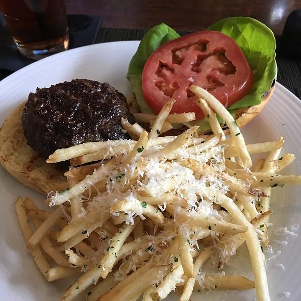 Burger With Truffle Fries - The Macintosh, Charleston, SC