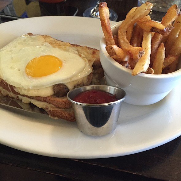 Croque Forestier - Fada Bistro, Brooklyn, NY
