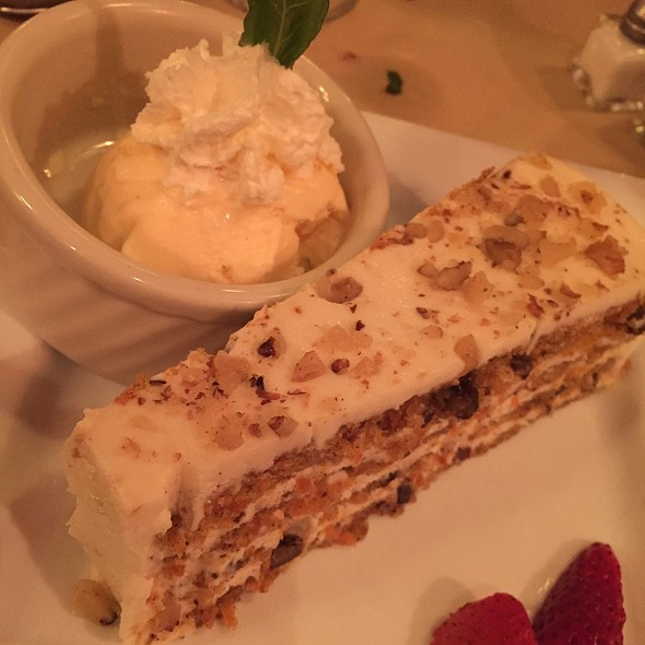 Carrot Cake - Hearthstone Restaurant, Breckenridge, CO