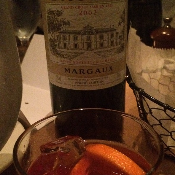 Bordeaux and Ild Fashioned  - Landmarc TriBeCa Events, New York, NY