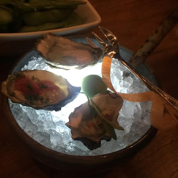 Kumamoto Oysters With Nobu Sauces - Matsuhisa Vail, Vail, CO