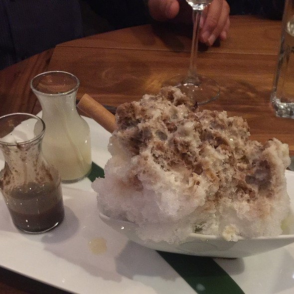 Nobu Shaved Ice - Matsuhisa Vail, Vail, CO