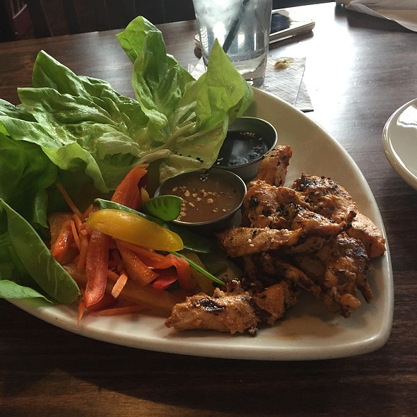 Thai Lettuce Wraps - The Grill Room at The Kirby House, Grand Haven, MI