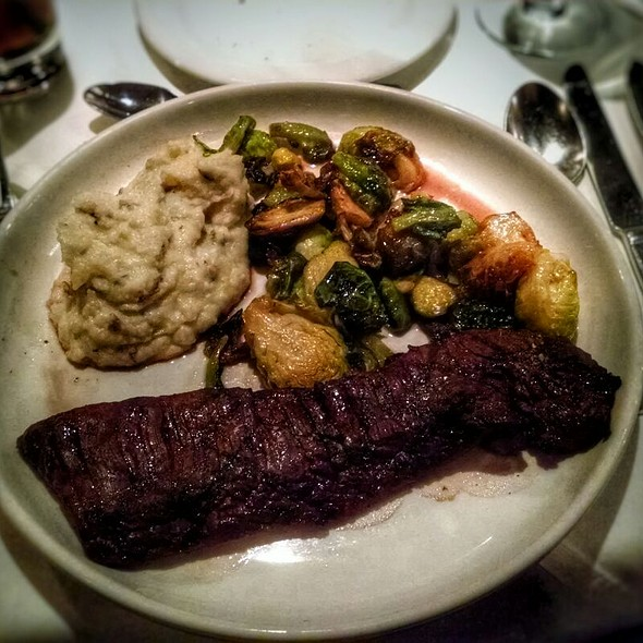 Bison Strip Steak - The Columbia Firehouse, Alexandria, VA