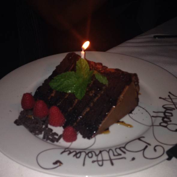 Chocolate Layered Cake - Mastro's Steakhouse - Costa Mesa, Costa Mesa, CA