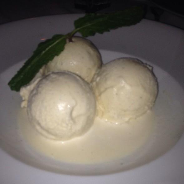 Vanilla Bean Gelato - Mastro's Steakhouse - Costa Mesa, Costa Mesa, CA