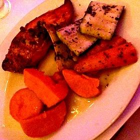 Roasted Salmon - Sur Restaurant, West Hollywood, CA