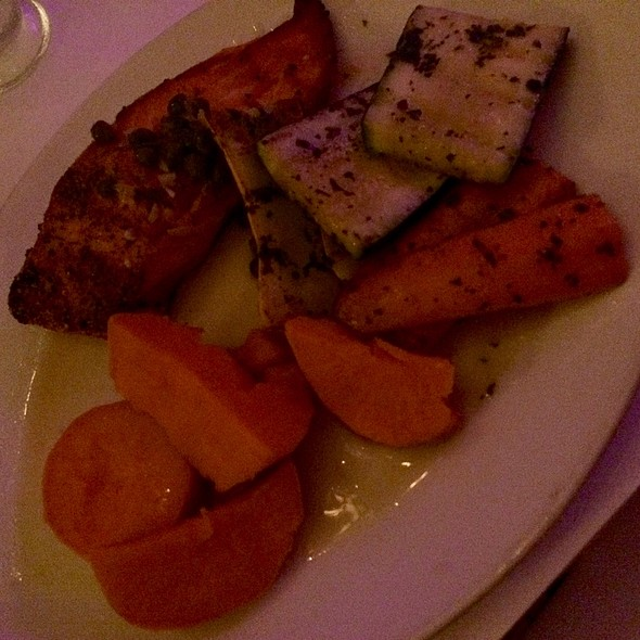 Roasted Salmon - Sur Restaurant, West Hollywood, CA