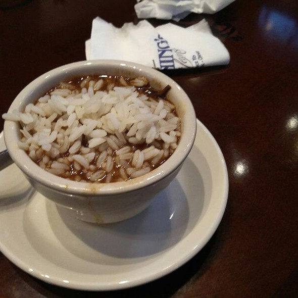 Gumbo with Andouille - Manning's Restaurant - Harrah's New Orleans, New Orleans, LA