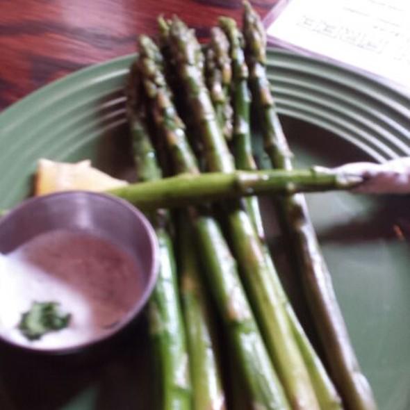 Grilled Asparagus - Santiago's Bodega, Key West, FL